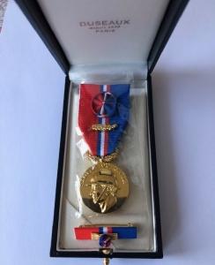 Médaille UDSP - modèle personnalisé